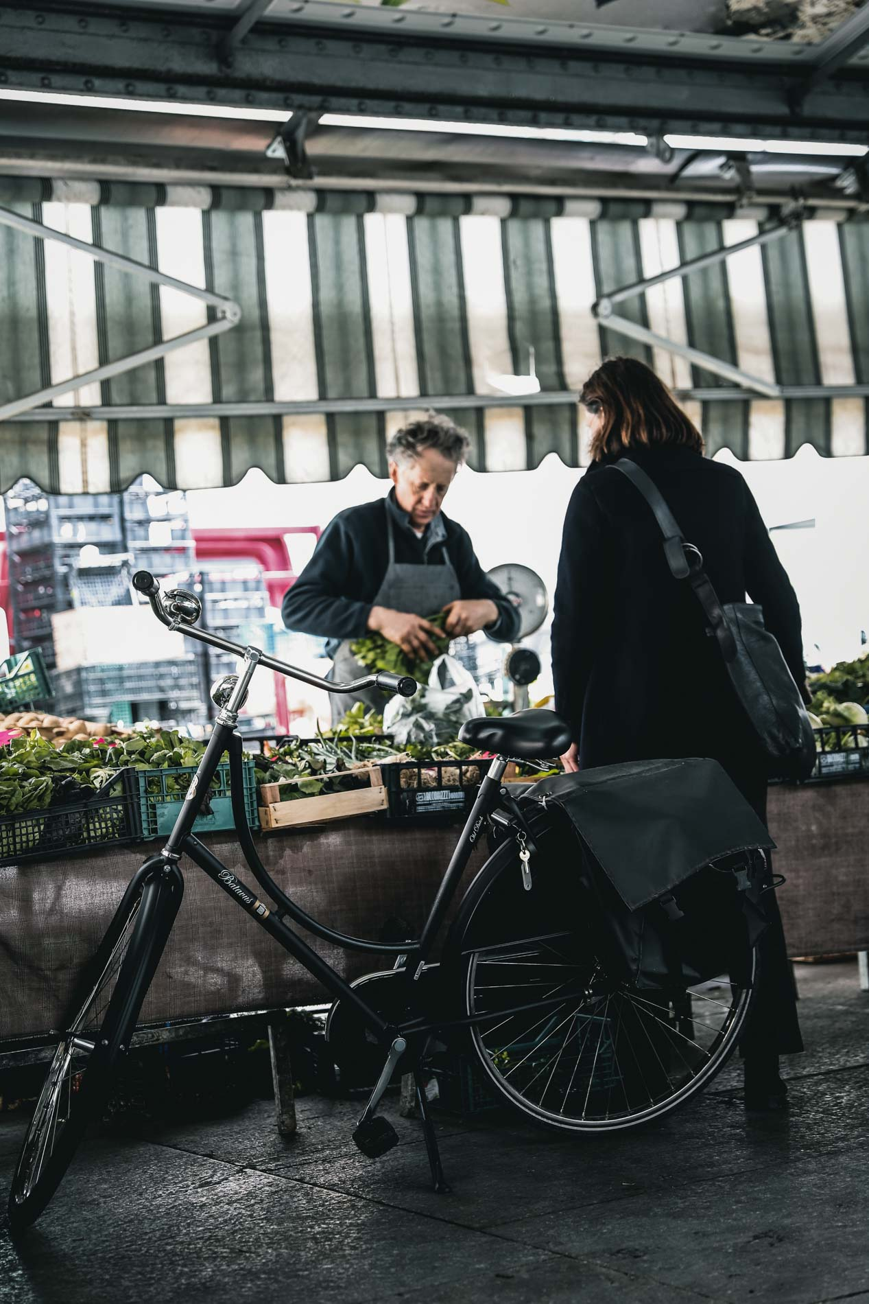 Im Piemont werden die Lebensmittel noch klassisch auf dem Markt gekauft: Perfekt fürs Camping