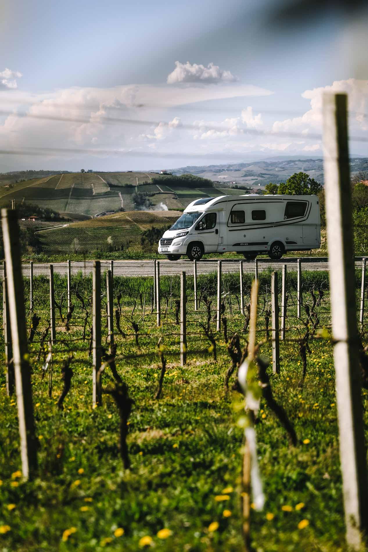 Das Piemont eignet sich perfekt fürs Camping.
