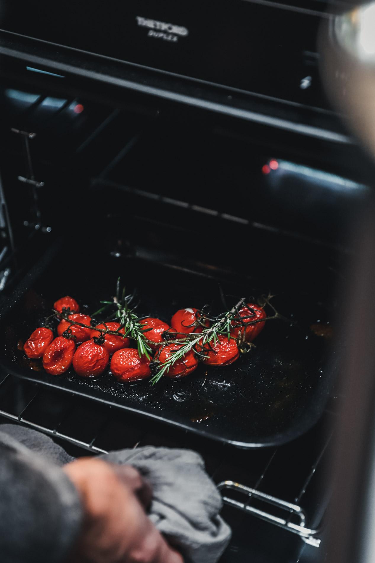 Mit frischen Zutaten vom Markt kann man im Camper super Kochen.
