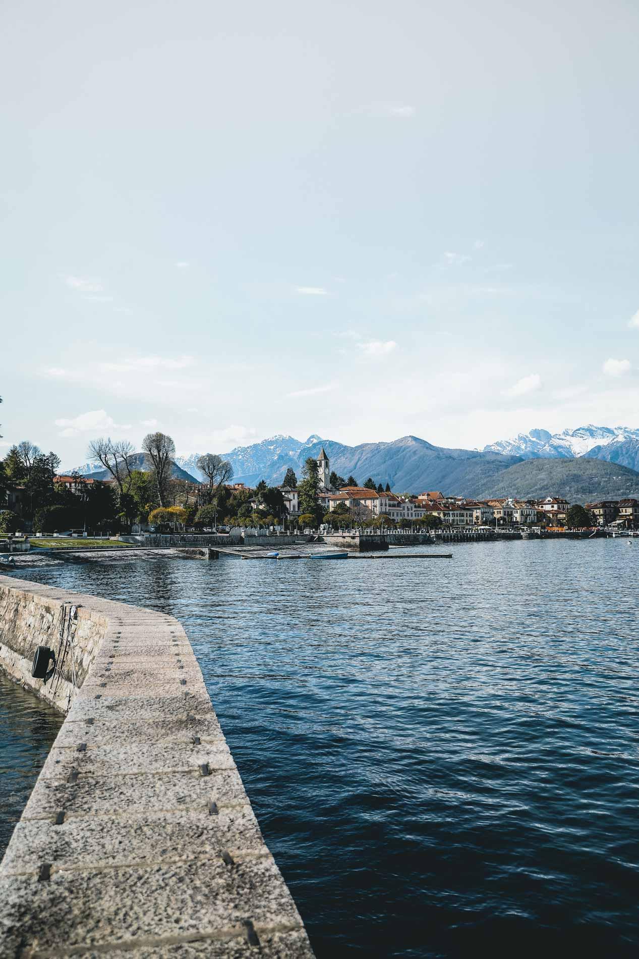 Nicht überall gibt es schöne Campingplätze am Lago Maggiore. Der in Baverno ist eine Ausnahme