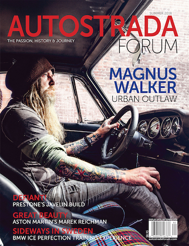Cover of 2018 Summer Issue of Autostrada Magazine