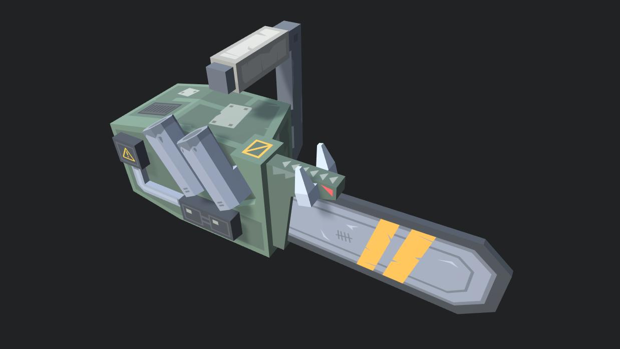 [Custom Mesh] Chainsaw | Scavenger