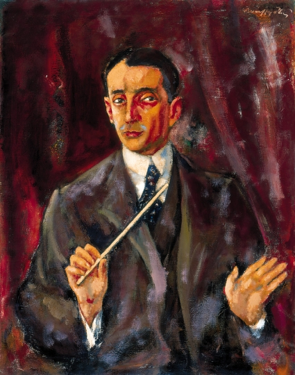 Egisto Tango created in 1918 by a notable Hungarian artist, MÁRFFY, ÖDÖN (1878-1959)