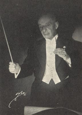 Egisto Tango Conducting at the Royal Theaters Chapel
