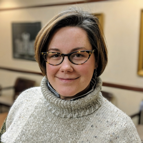 Maggie Ulmer   Maggie Ulmer is one-third of the Plain Truth: A Holy Spirited Podcast team. She has spent her life following the leadings of Jesus Christ which resulted in a degree in Classical French Cuisine from PA Culinary Institute, a subsequent career in pastry and baking, the co-founding of a professional theatre company called The Hub Theatre in Fairfax, VA, and work in the field of arts administration; as well as no less than 6 moves with her itinerant-Methodist-Pastor husband. When they're not taking a break from it, Maggie loves home schooling her two remaining school age sons, studying Philosophy and Religion, and speaking the heart of Jesus to anyone who will listen.