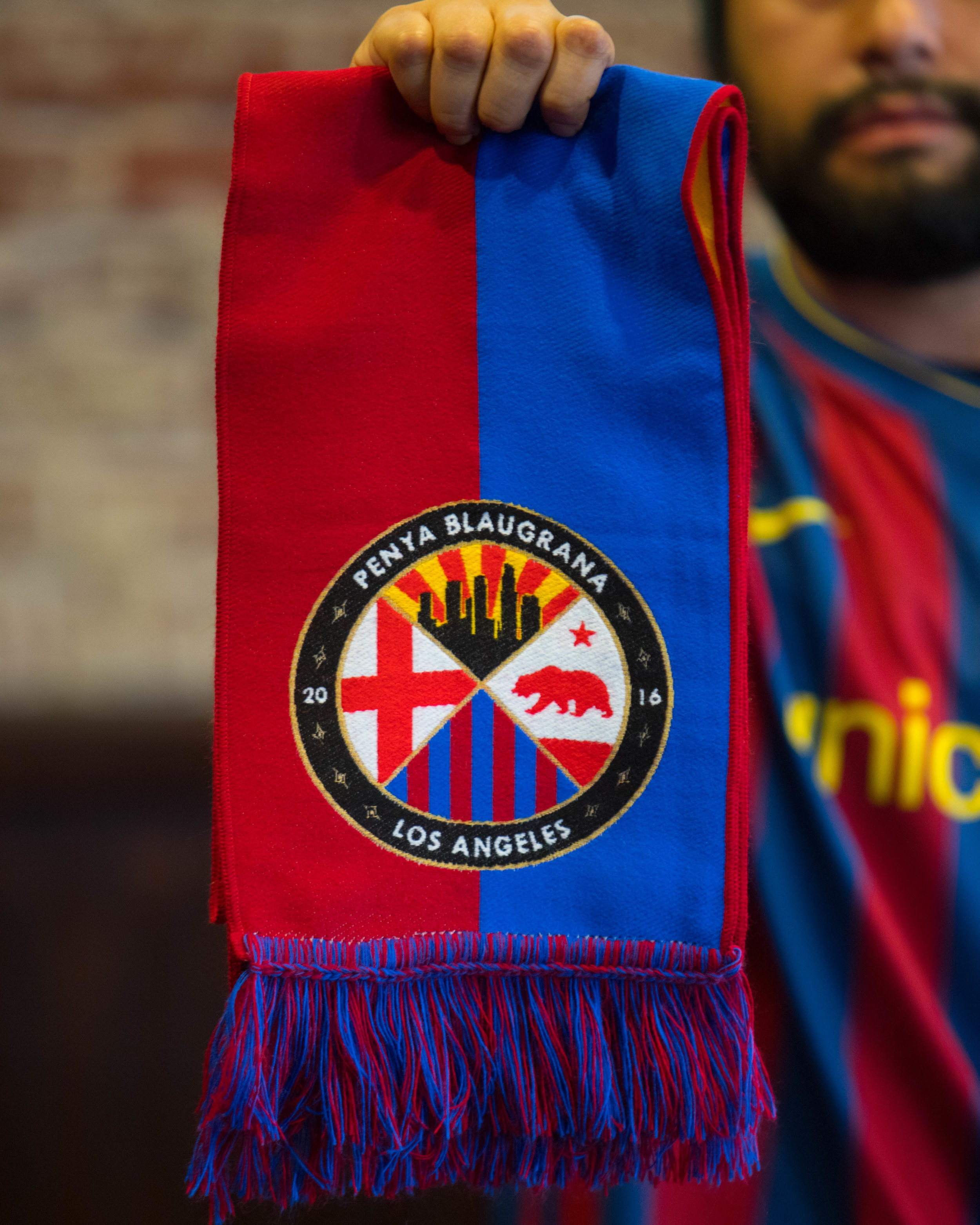 2018/19 Scarf - Our new scarf is here! Represent your Penya with pride!$35 Non-Members$25 MembersLimited Quantities Available until next order.