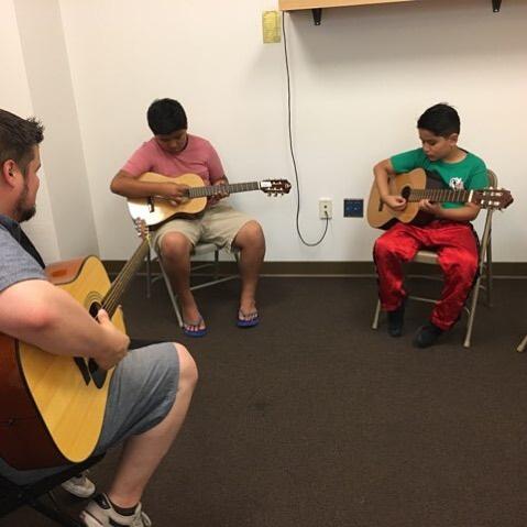 Beginning guitar class@NewSettlementCommunityCenter!Register today.