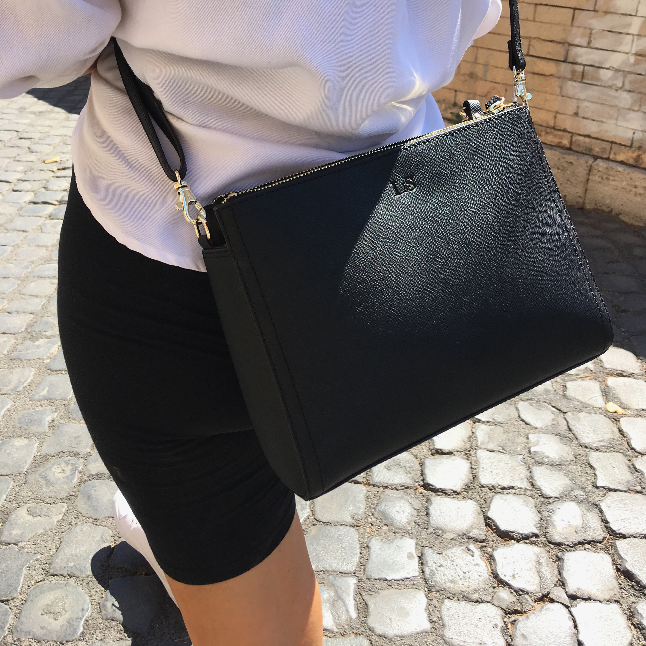 Lo&Sons    The Pearl Leather Crossbody & Clutch Bag, Rome Italy 2019