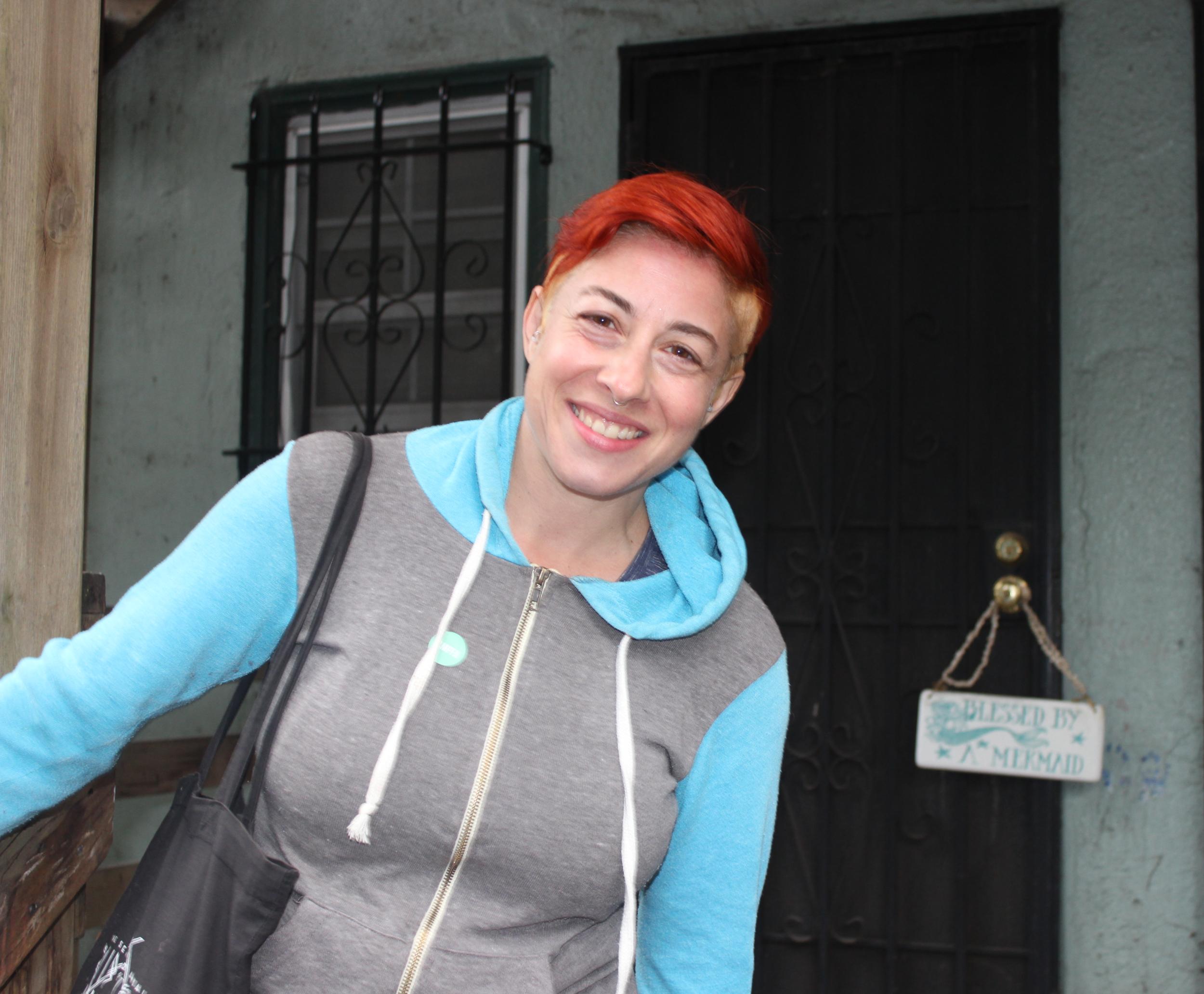 Laura Goldstein Read in The Oak Center Neighborhood of West Oakland on 6/15/19