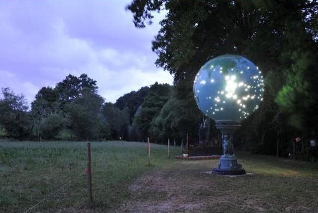 B5 - Globe (jardin nord du château)