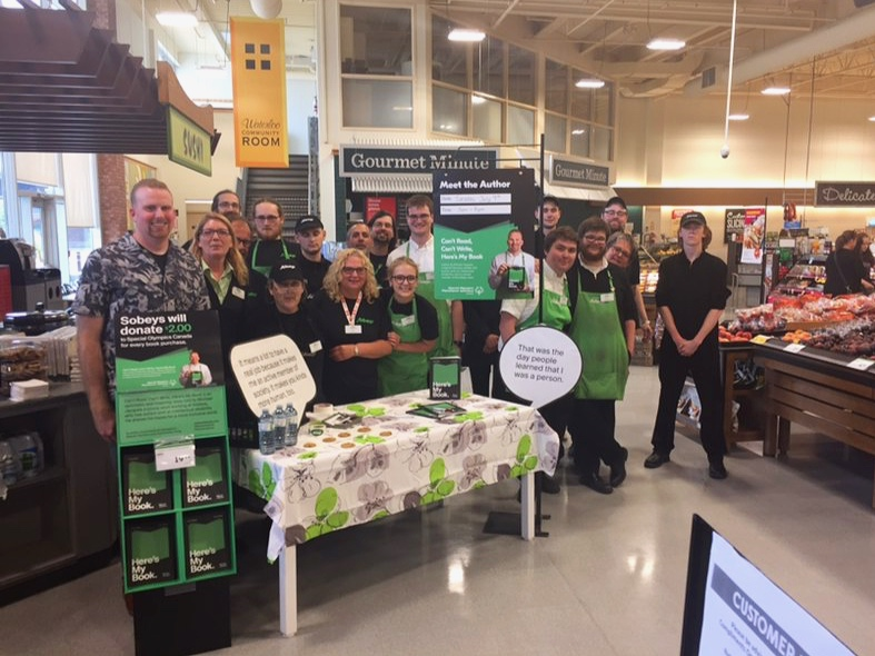 Day 2 – in the afternoon visited Sobeys in Waterloo, everyone was so welcoming!