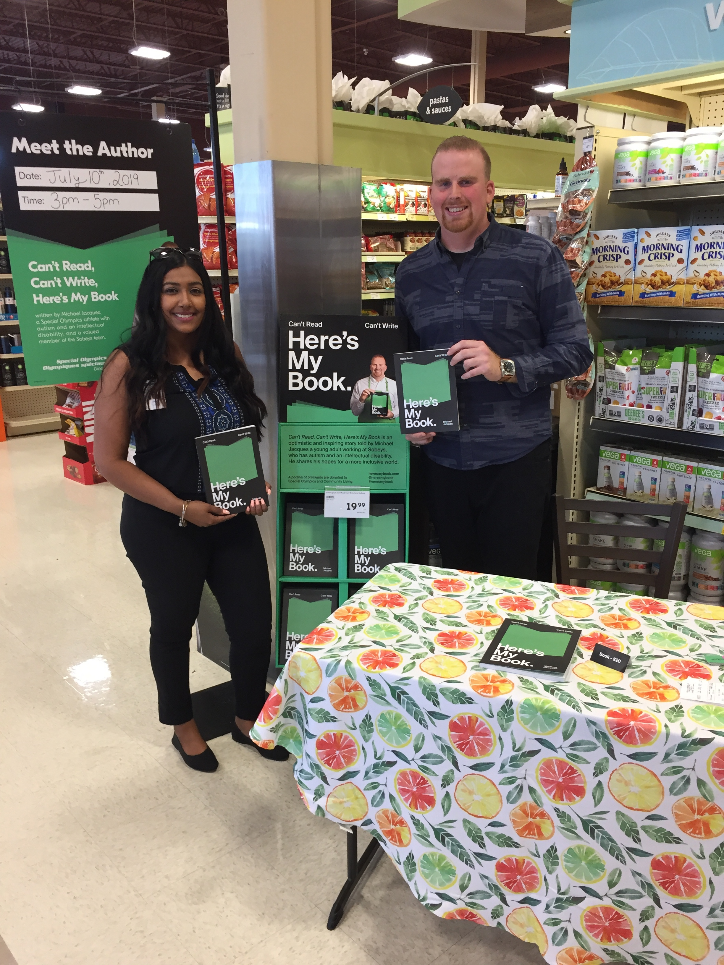 Day 3 – Sobeys Laird & Wicksteed, always fun to meet new people!