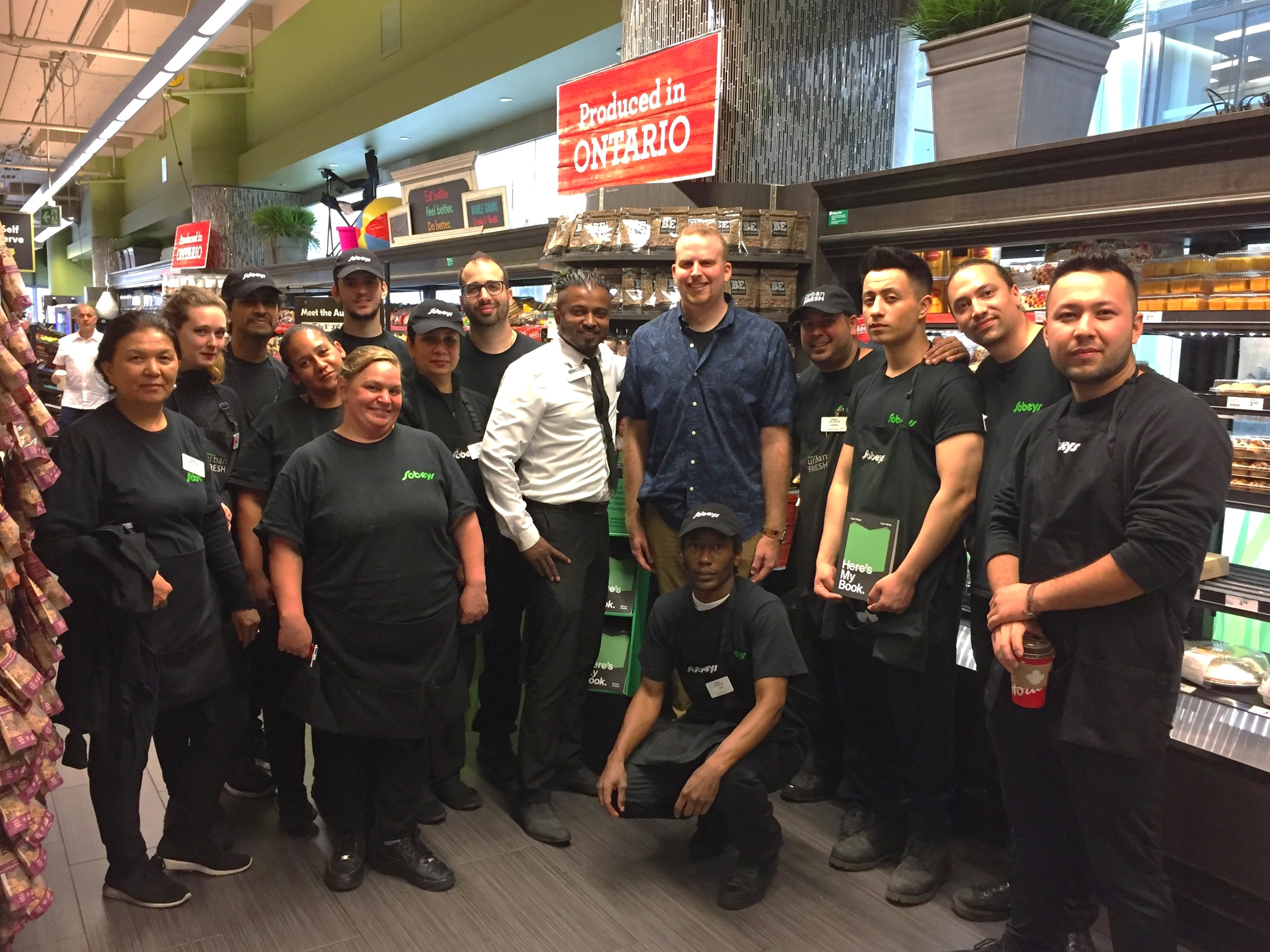 Day 4 – meeting more awesome people from the Sobeys Urban Fresh store on Bay Street Toronto.