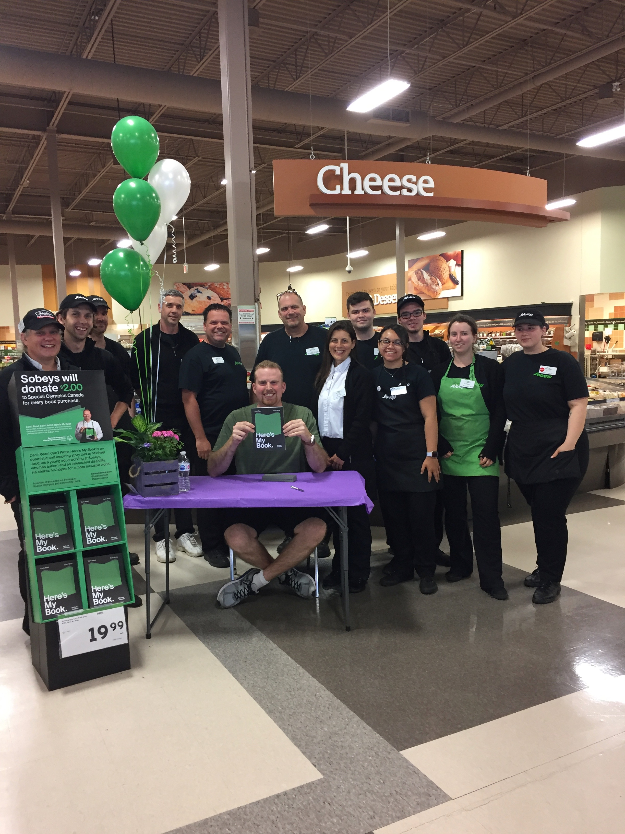 Day 5 –say cheese! From the Sobeys Glendale team in St. Catharines.