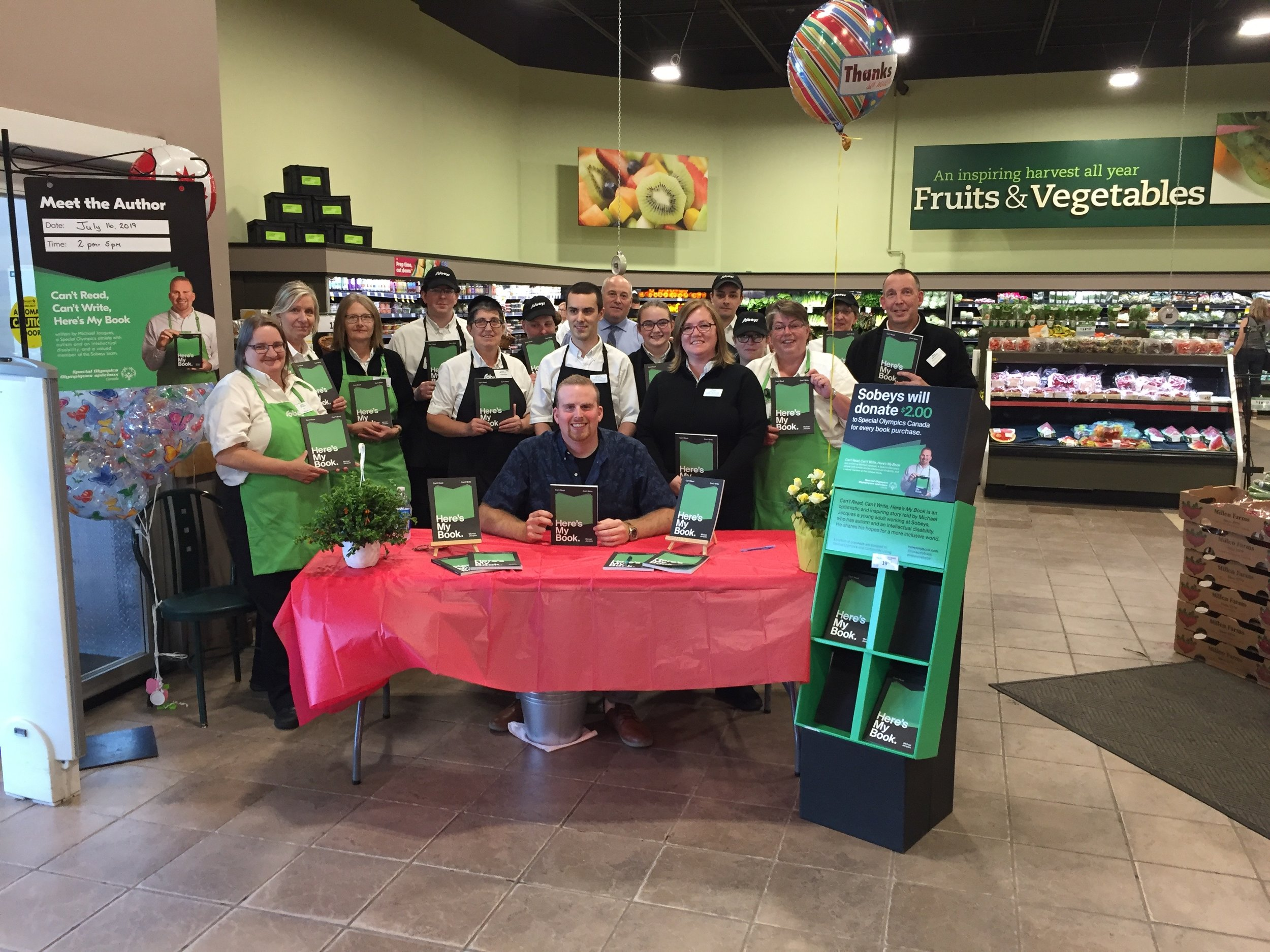Day 2 – meet the Sobeys Antigonish team!