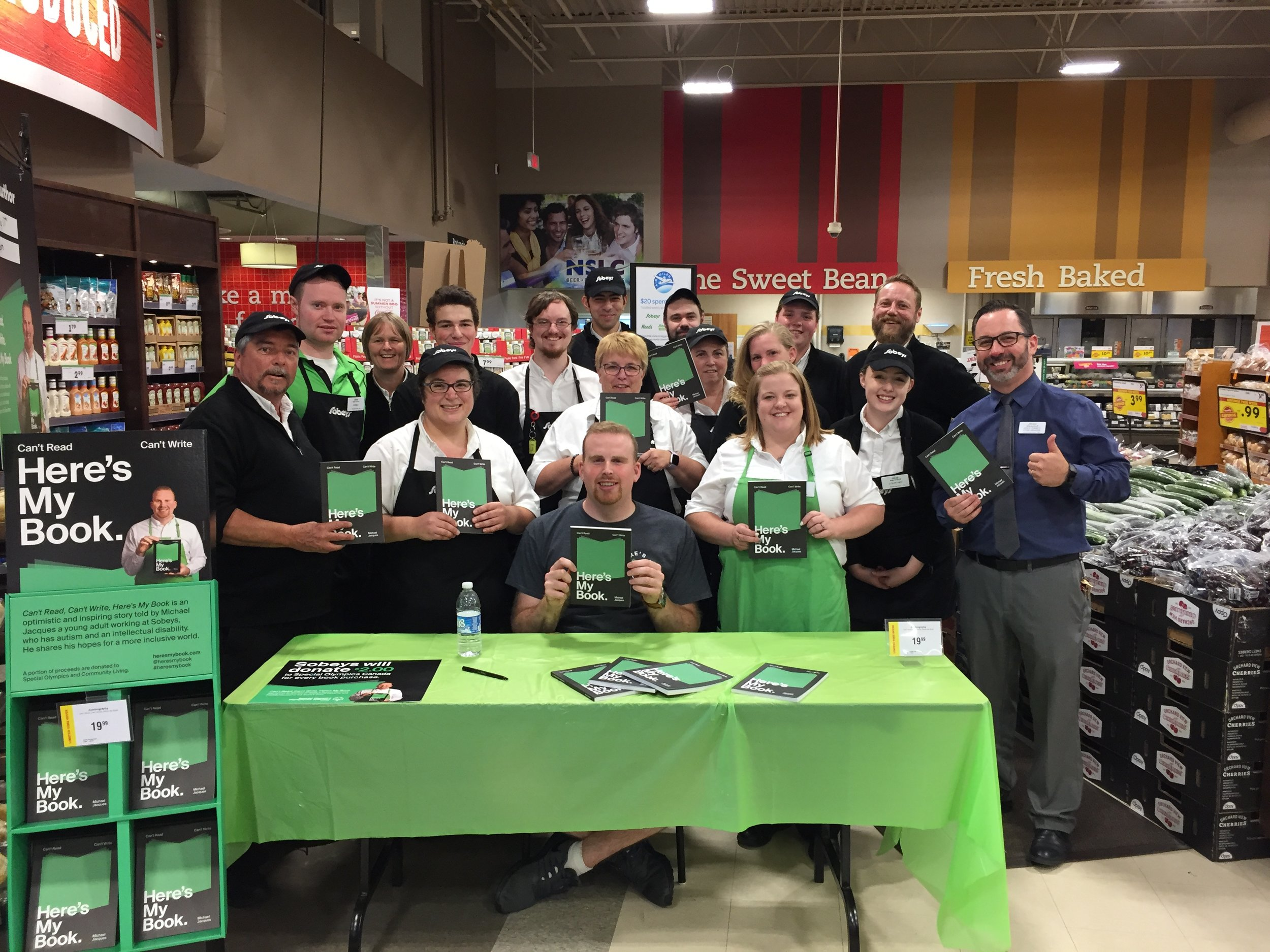 Day 3 –team at Sobeys Bedford