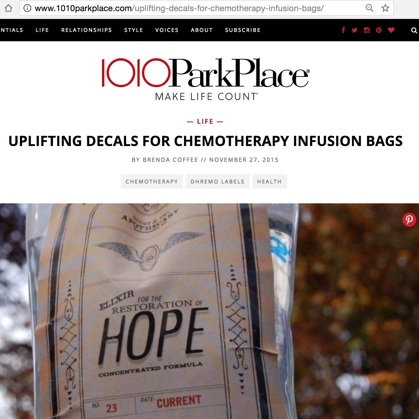 1010 Park Place Blog Feature