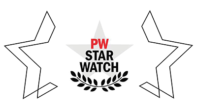 Honoree, Publishers Weekly Star Watch 2018
