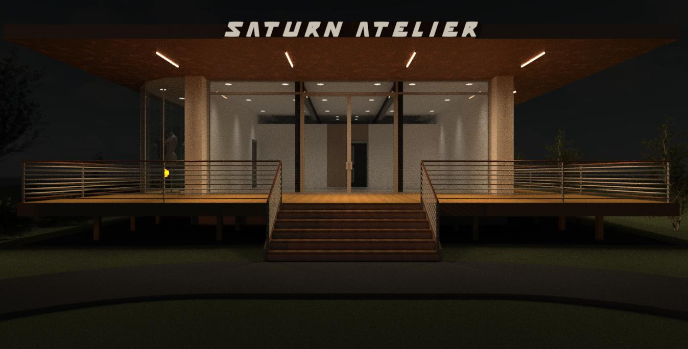 Saturn Atelier Brick and Mortar