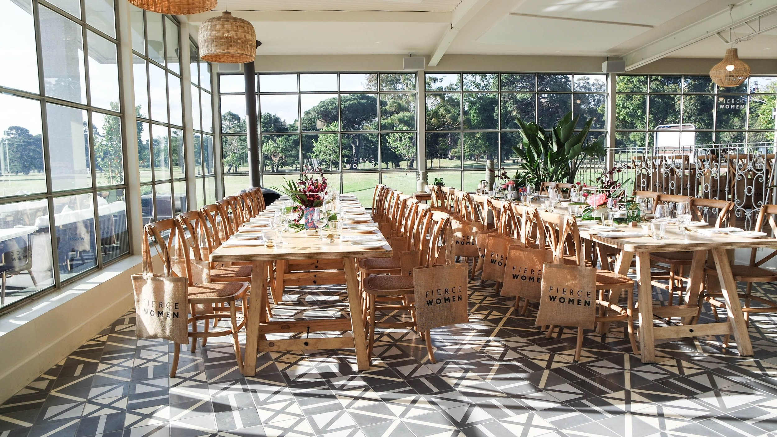 Multi functional event space.