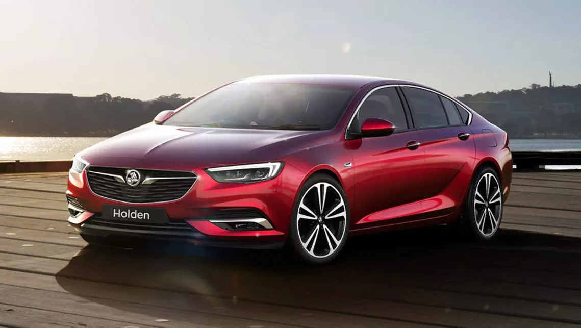New Holden Commodore designed in Europe.