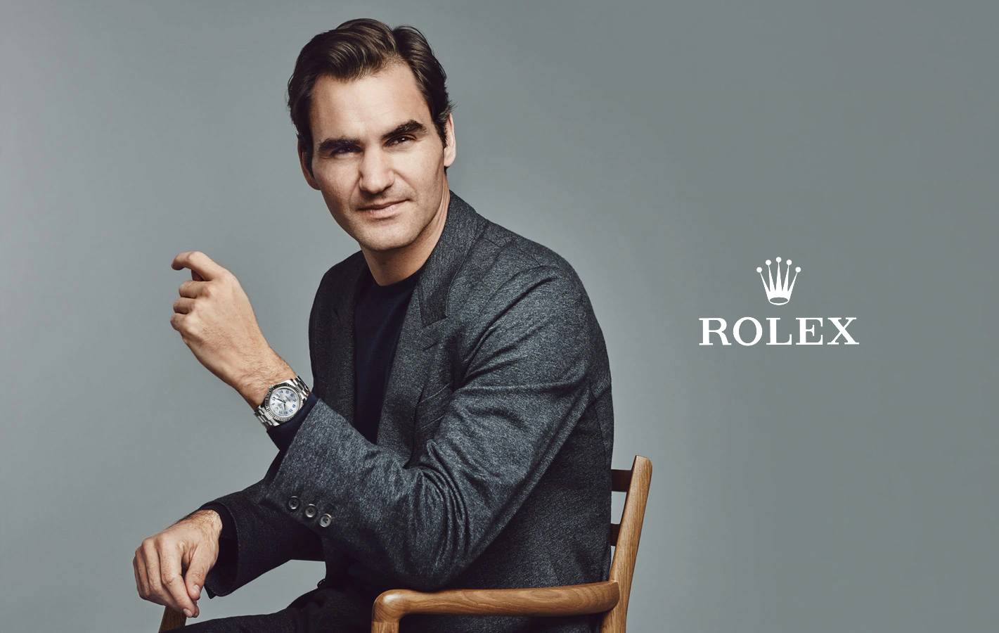 Rolex is a premium brand of Watches of Switzerland.