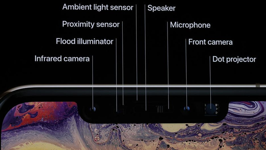 Sophisticated features of the iPhone R.