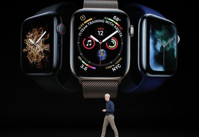 Tim Cook pushing the next generation of Apple Watch.