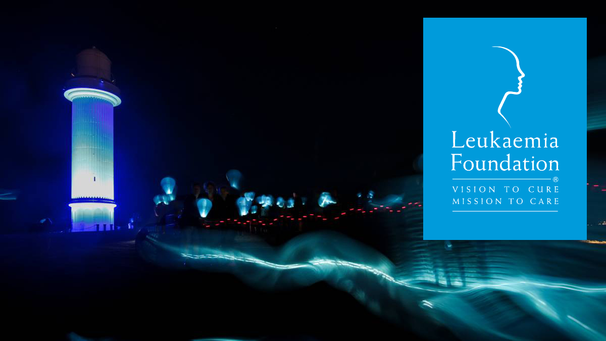 Leukaemia Foundation  Light the night Wollongong 2017