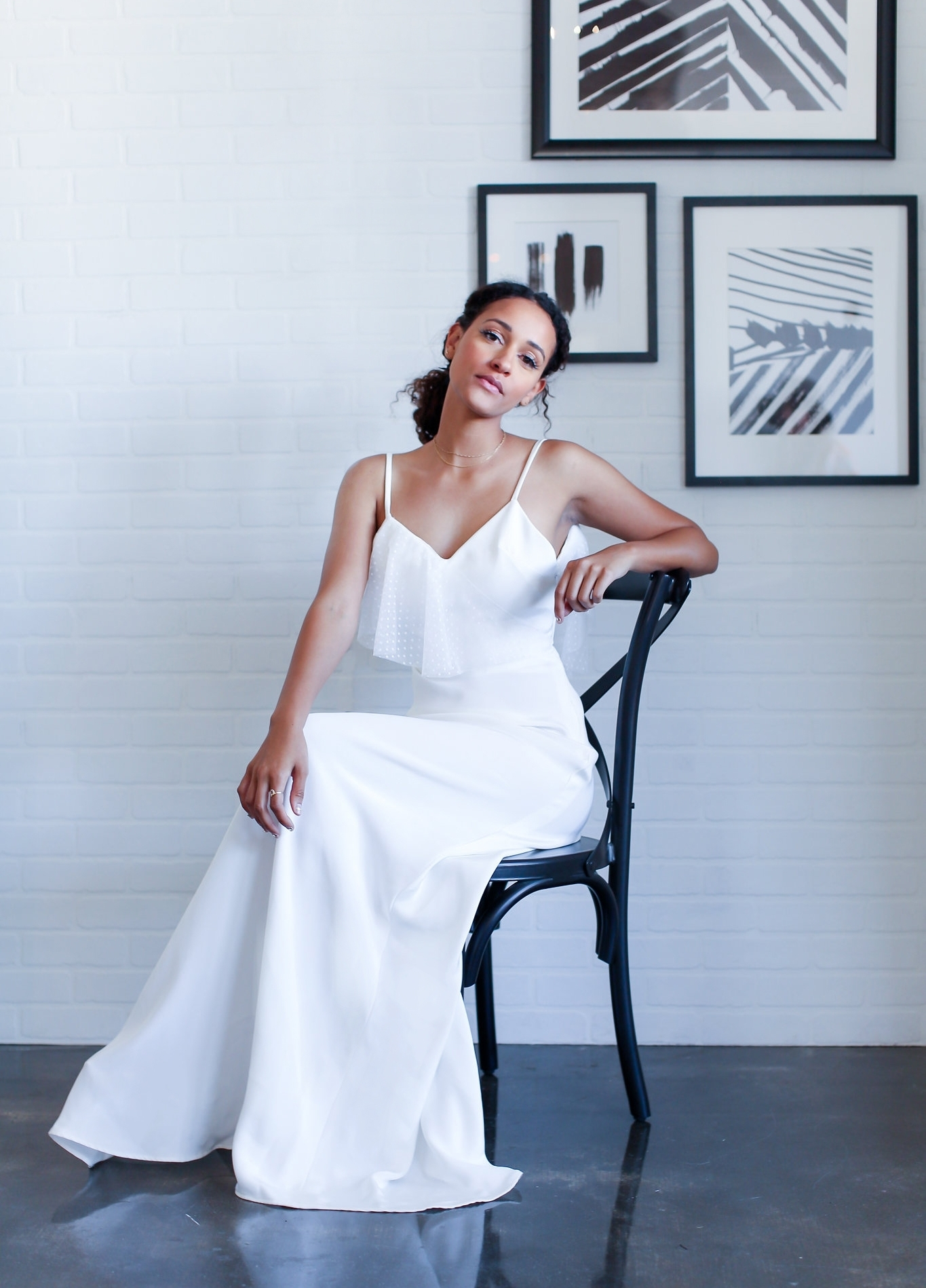 Ivory- white- crepe- swiss dot wedding dress.jpg