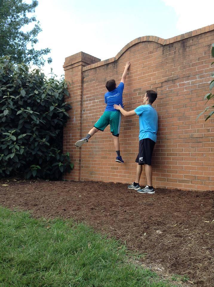 Tim Dexter Wall Training
