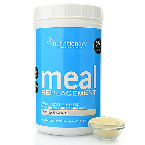 Super Meal Replacement Shake (30-Day Supply)  My clean super foods meal replacement is perfect for those looking for a great in-between meal snack or a quick meal that adds protein, vitamins and minerals as part of a healthy diet. Perfect for those who always skip breakfast or get home too late to make a meal. It comes in two delicious flavors and can be whipped up in seconds by simply mixing with a cold glass of water or another favorite beverage.