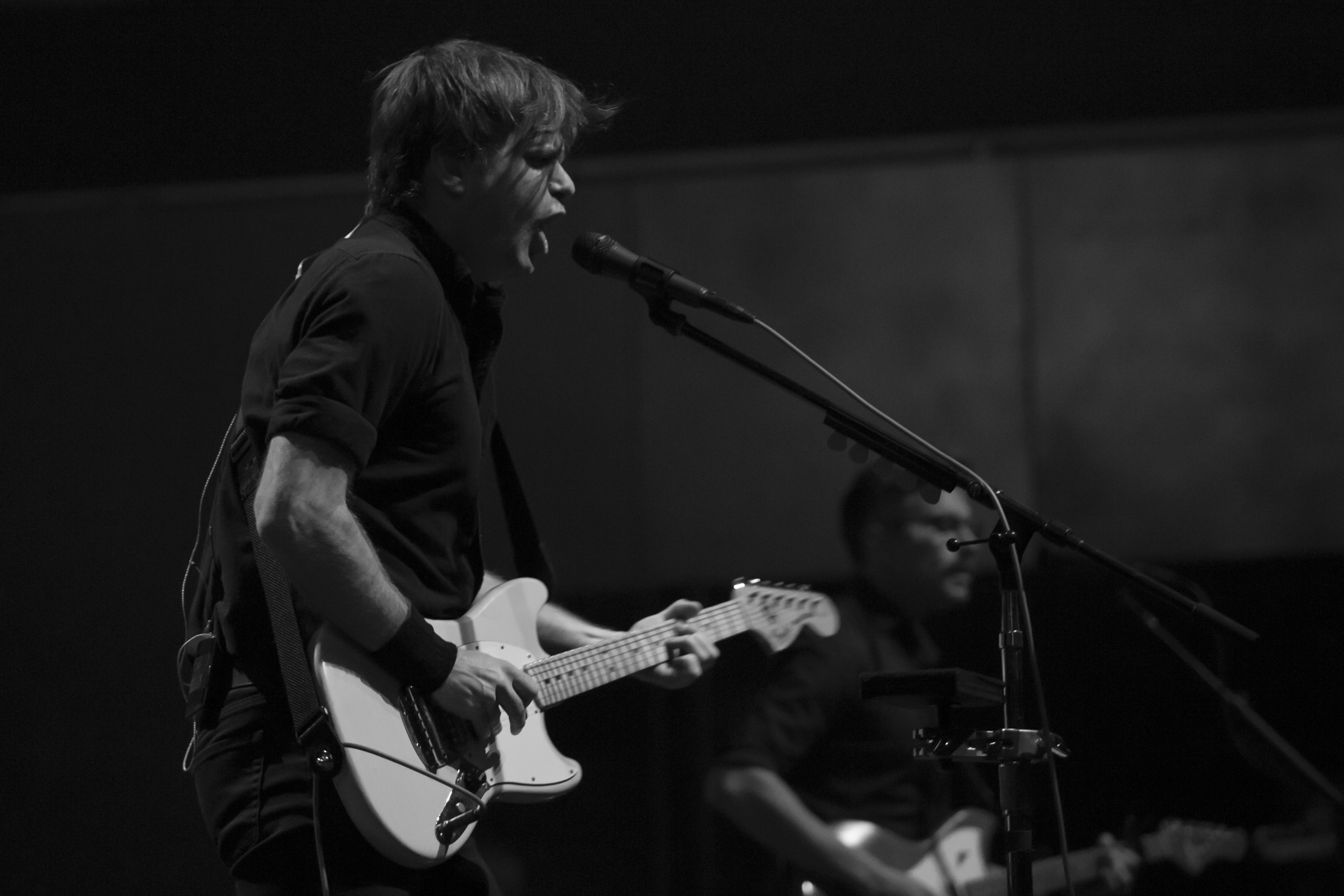 "Review - ""..Gibbard's voice is unmistakably iconic. Clear and soothing whilst also being yearning and raw. There's a balance of melancholy and hope in his delivery."""