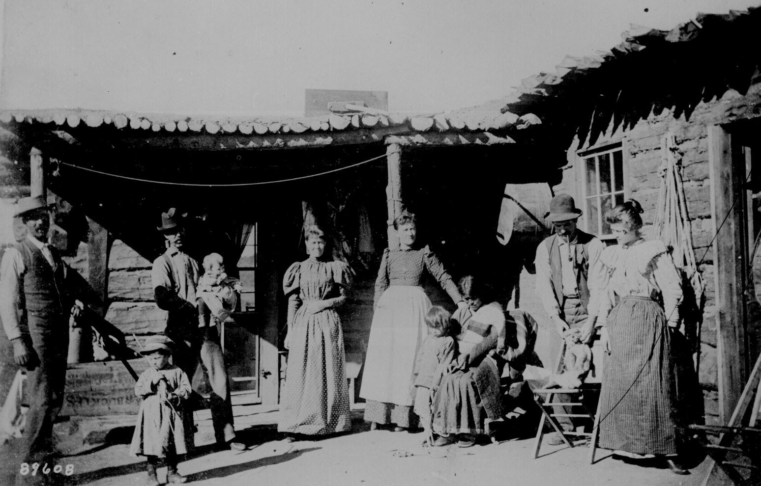 Pioneer family in the Myakka area. 1880's