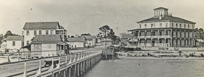 Sarasota, Florida in the late 1880's