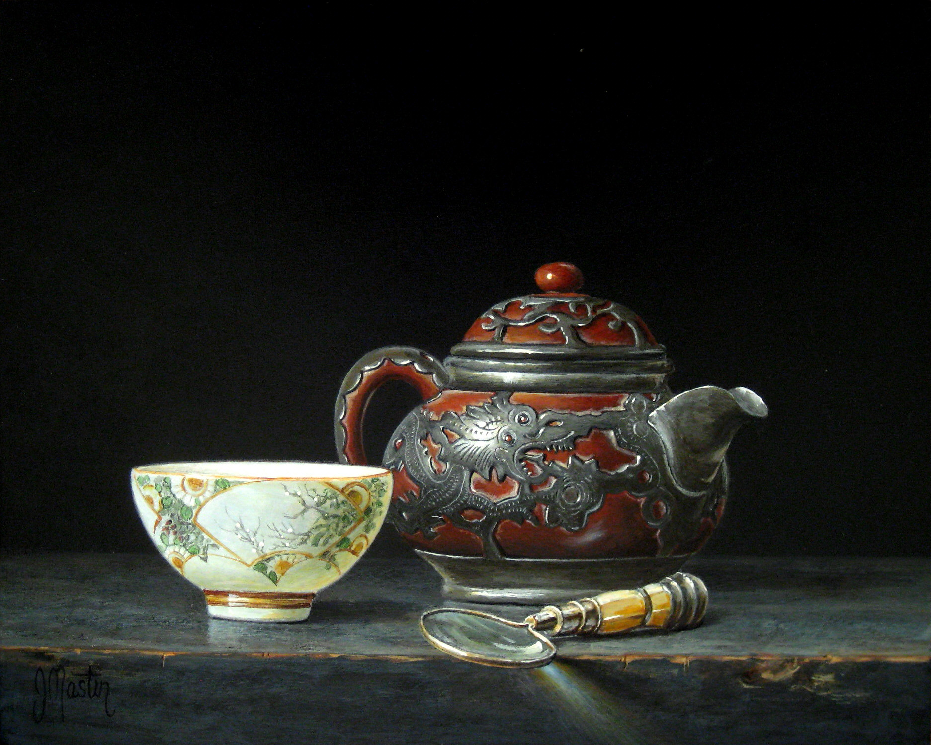 Tea with the Old Dragon