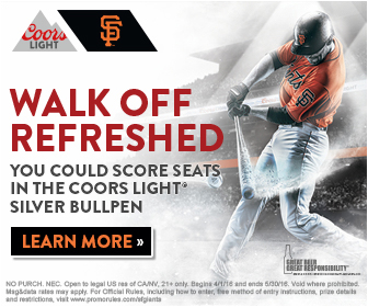 Coors Light, Walk Off Refreshed  VIEW ANIMATION