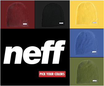 Neff,  Daily Beanie   VIEW ANIMATION