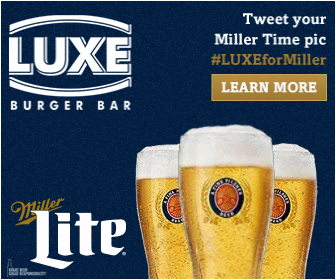 Miller Lite,  Luxe Burger Bar   VIEW ANIMATION