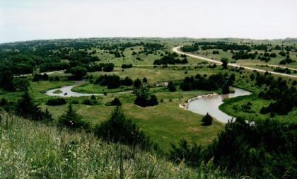 Dismal River south of Stapleton