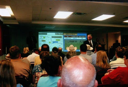 Powerpoint presentation prior to the McMurtrey Ranch auction