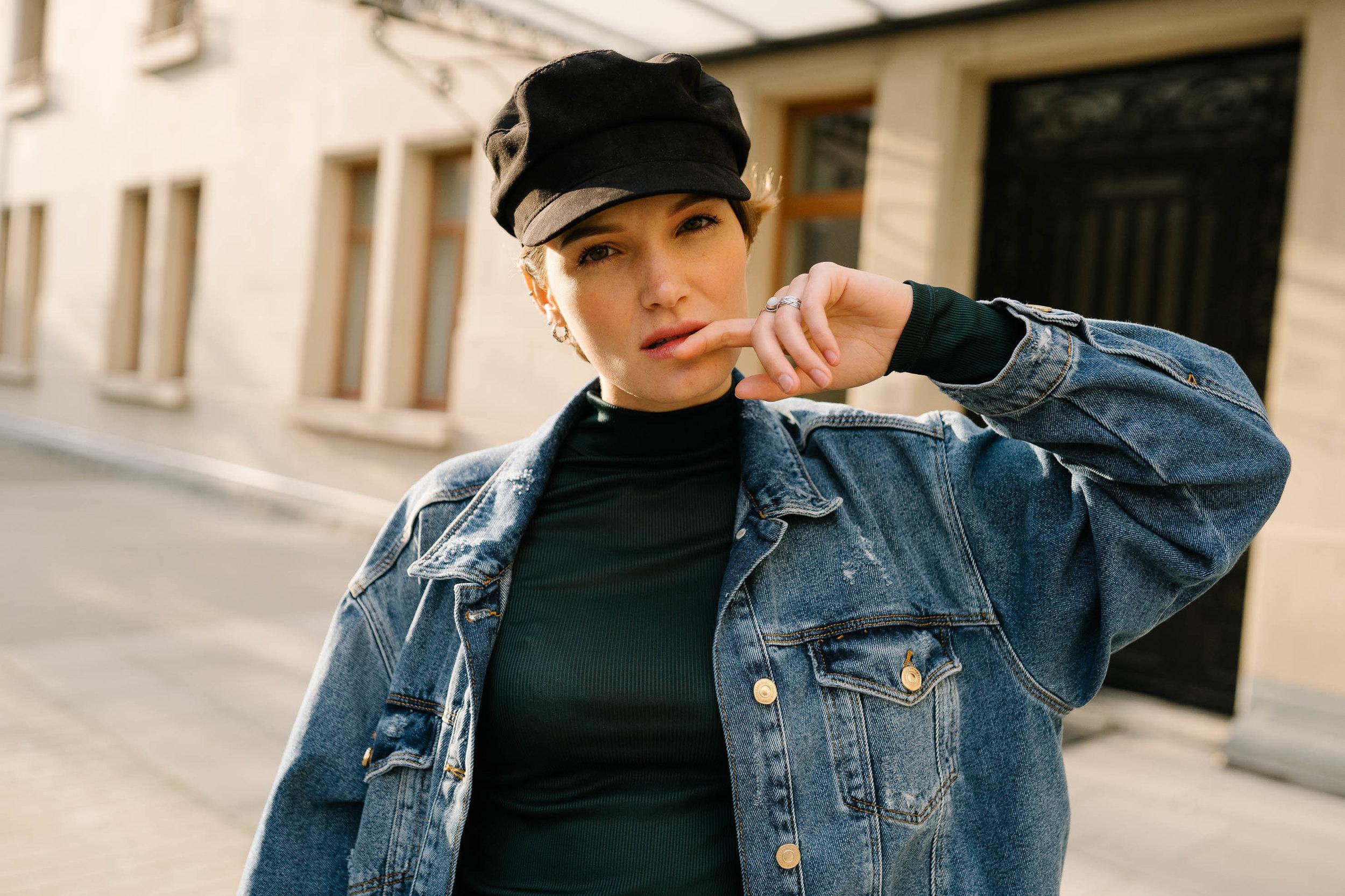 Photo et vidéo mode femme chapeau photographe et vidéaste à Bruxelles