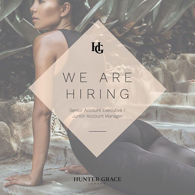 We are hiring a Senior Account Executive / Junior Account Manager with 3-5 years experience. The successful candidate will work across luxury beauty, fitness and lifestyle clients.  For the full job spec please visit @diarydirectory vacancies on their website.  To apply please email charlotte@huntergracelondon.com with your CV.  #pr #london #londonjob #prjob #beauty #fitness #job #vacancy #london #work #beautypr #beautyprjob