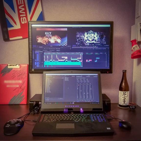 In my edit studio