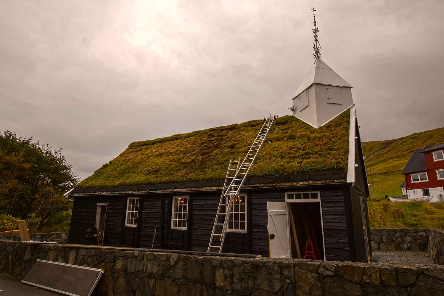 One of the oldest churches on the Faroe Islands.