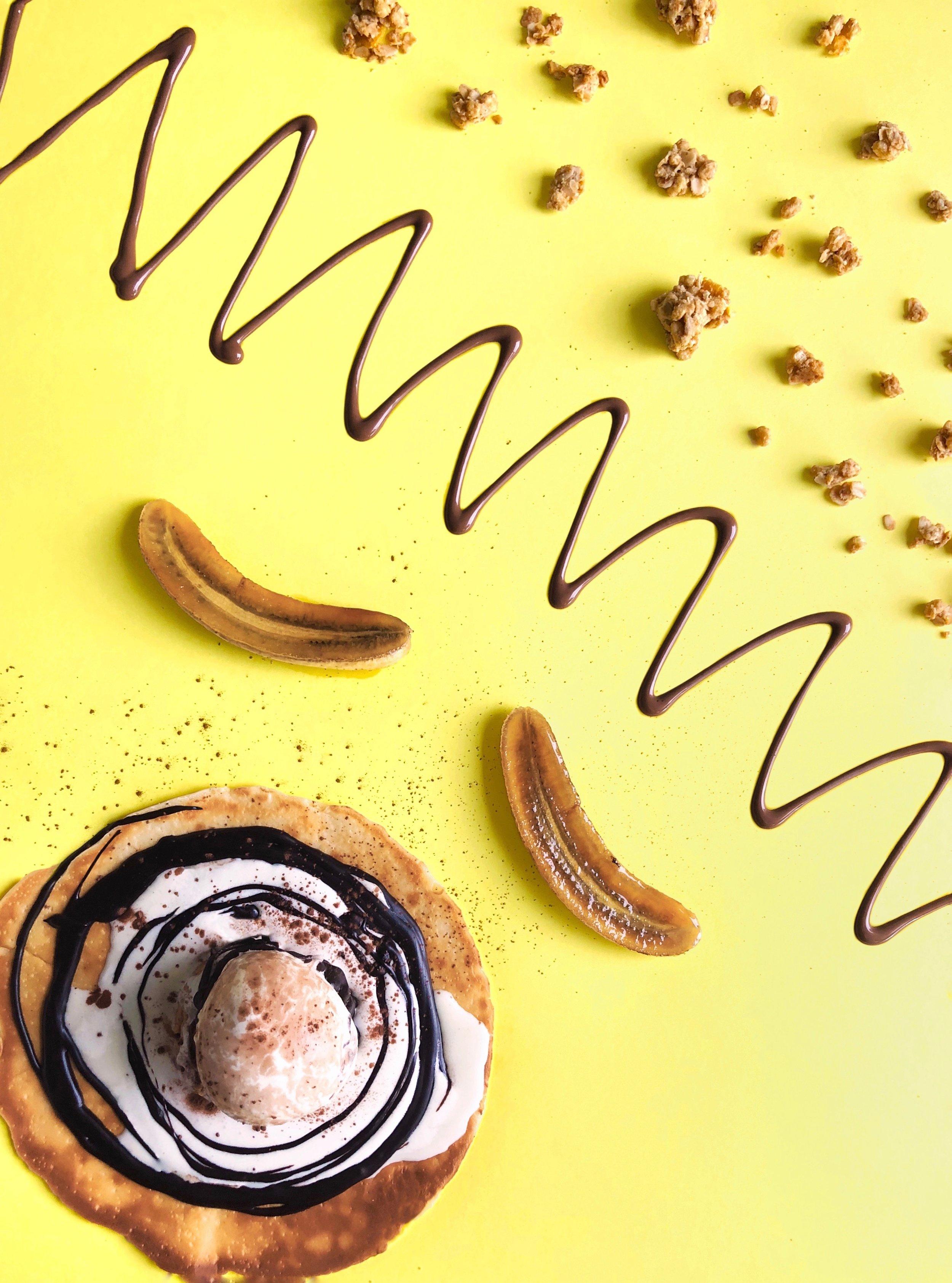 Nutella Banana Crepe from Shakespeare Milkshakes