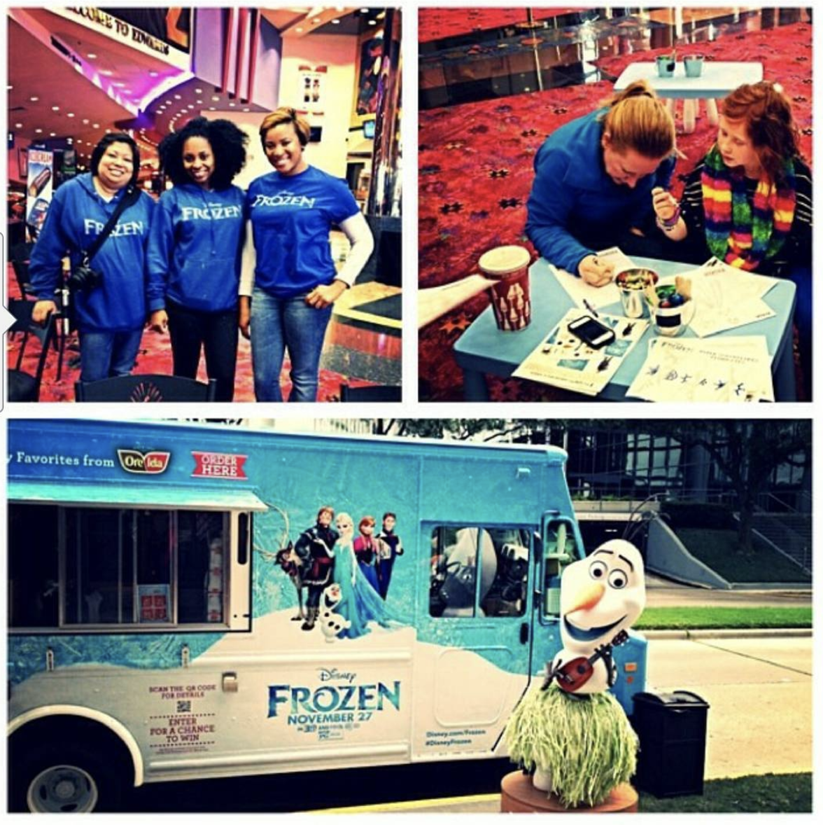 The first time I worked with a food truck marketing campaign.
