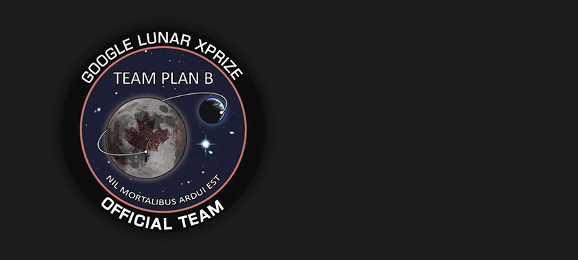 Team Plan B - I was hired to create a quick interactive representation of a lunar lander for the team to show off during events.