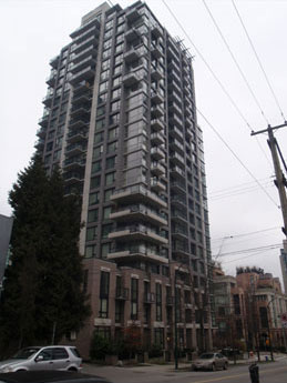 - * The base of this building is different from the main highrise part.* Porches drastically change along the corners to break up the silhouette.* The roof is not flat. There is a variation up there of some kind.