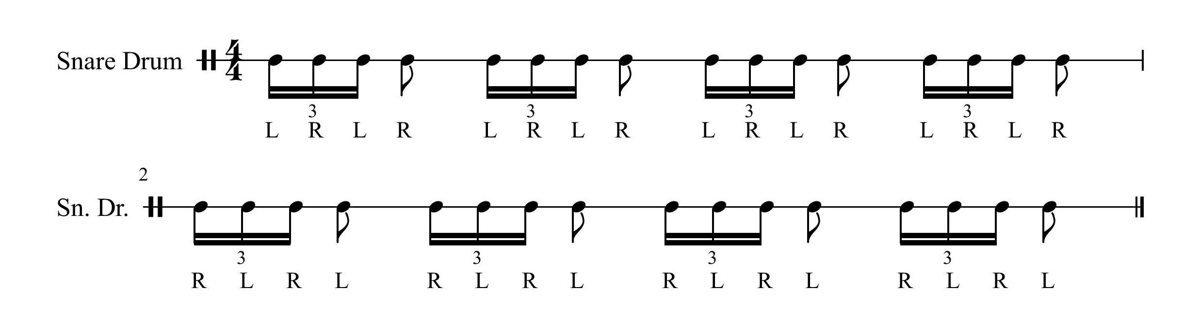 4 Stroke Ruff
